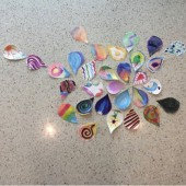 Figure 1: Mandala created by students during a recent class session.