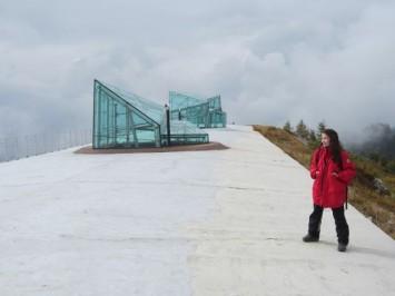 Figura 10 - Situado a 2000 m de altitud, el MMM Dolomitas