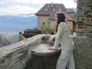 Figura 18- Vista desde la torre de Juval