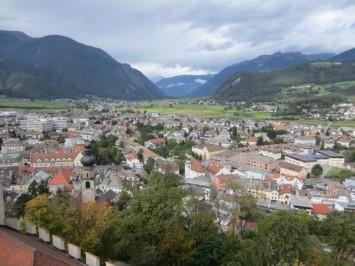 Figura 5 - Vista panorámica desde la torre del castillo de Brunico