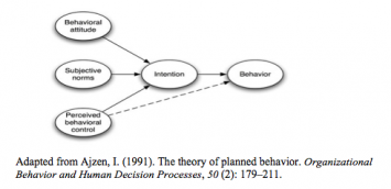 Figure 1: Theory of Planned Behavior