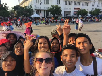 Figure 8. Students overwhelmingly conveyed the kindness and happiness they received from their Indonesian hosts.